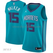NBA Basketball Trøje Børn Charlotte Hornets 2018 Kemba Walker 15# Icon Edition..
