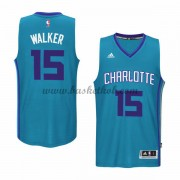 Charlotte Hornets Basketball Trøjer 2015-16 Kemba Walker 15# Alternate..