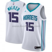 Charlotte Hornets Basketball Trøjer 2018 Kemba Walker 15# Association Edition..