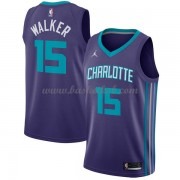 Charlotte Hornets Basketball Trøjer 2018 Kemba Walker 15# Statement Edition..