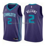 Charlotte Hornets Basketball Trøjer 2018 Marvin Williams 2# Statement Edition..