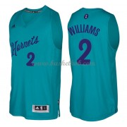 Charlotte Hornets 2016 Marvin Williams 2# Jul NBA Basketball Trøjer..