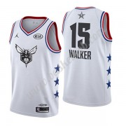 Charlotte Hornets 2019 Kemba Walker 15# Hvid All Star Game Swingman Basketball Trøjer..