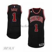 Chicago Bulls Børn NBA Trøjer 2015-16  Derrick Rose 1# Alternate Swingman..