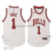 NBA Basketball Trøje Børn Chicago Bulls 2015-16 Derrick Rose 1# Home..