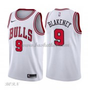 NBA Basketball Trøje Børn Chicago Bulls 2018 Antonio Blakeney 9# Association Edition..