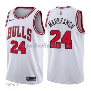 NBA Basketball Trøje Børn Chicago Bulls 2018 Lauri Markkanen 24# Association Edition..