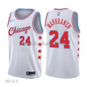 NBA Basketball Trøje Børn Chicago Bulls 2018 Lauri Markkanen 24# City Edition..