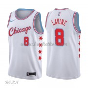 NBA Basketball Trøje Børn Chicago Bulls 2018 Zach Lavine 8# City Edition..