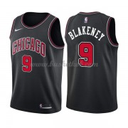 Chicago Bulls Basketball Trøjer 2018 Antonio Blakeney 9# Statement Edition..