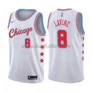 Chicago Bulls Basketball Trøjer 2018 Zach Lavine 8# City Edition..