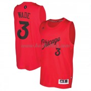 Chicago Bulls 2016 Dwyane Wade 3# Jul NBA Basketball Trøjer..