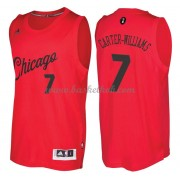 Chicago Bulls 2016 Michael Carter-Williams 7# Jul NBA Basketball Trøjer..