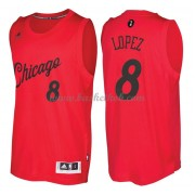 Chicago Bulls 2016 Robin Lopez 8# Jul NBA Basketball Trøjer..
