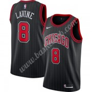 Chicago Bulls Basketball Trøjer NBA 2019-20 Zach Lavine 8# Sort Finished Statement Edition Swingman..