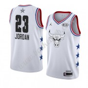 Chicago Bulls 2019 Michael Jordan 23# Hvid All Star Game Swingman Basketball Trøjer..