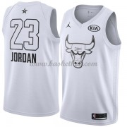 Chicago Bulls Michael Jordan 23# Hvid 2018 All Star Game Swingman Basketball Trøjer..