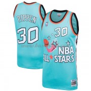 Chicago Bulls Scottie Pippen 33# Teal 1996 All Star Hardwood Classics Swingman Basketball Trøjer..