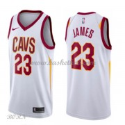 NBA Basketball Trøje Børn Cleveland Cavaliers 2018 LeBron James 23# Association Edition..