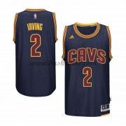 Cleveland Cavaliers Basketball Trøjer 2015-16 Kyrie Irving 2# Navy Alternate..