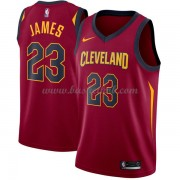 Cleveland Cavaliers Basketball Trøjer 2018 LeBron James 23# Icon Edition..