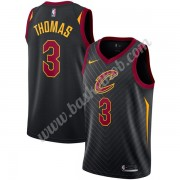 Cleveland Cavaliers Basketball Trøjer NBA 2019-20 Isaiah Thomas 3# Sort Statement Edition Swingman..