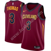 Cleveland Cavaliers Basketball Trøjer NBA 2019-20 Isaiah Thomas 3# Vin Icon Edition Swingman..