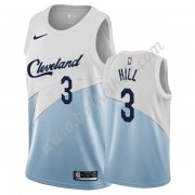 Cleveland Cavaliers Basketball Trøjer NBA 2019-20 George Hill 3# Hvid Earned Edition Swingman..