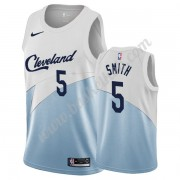 Cleveland Cavaliers Basketball Trøjer NBA 2019-20 J.R. Smith 5# Hvid Earned Edition Swingman..