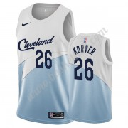 Cleveland Cavaliers Basketball Trøjer NBA 2019-20 Kyle Korver 26# Hvid Earned Edition Swingman..