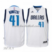 NBA Basketball Trøje Børn Dallas Mavericks 2015-16 Dirk Nowitzki 41# Home..