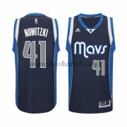 Dallas Mavericks Basketball Trøjer 2015-16 Dirk Nowitzki 41# Alternate..