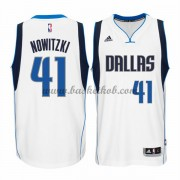 Dallas Mavericks Basketball Trøjer 2015-16 Dirk Nowitzki 41# Home..