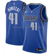 Dallas Mavericks Basketball Trøjer 2018 Dirk Nowitzki 41# Icon Edition..