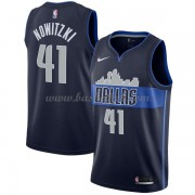Dallas Mavericks Basketball Trøjer 2018 Dirk Nowitzki 41# Statement Edition..