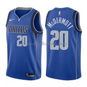 Dallas Mavericks Basketball Trøjer 2018 Doug McDermott 20# Icon Edition..