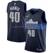 Dallas Mavericks Basketball Trøjer 2018 Harrison Barnes 40# Statement Edition..