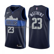 Dallas Mavericks Basketball Trøjer 2018 Wesley Matthews 23# Statement Edition..