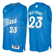 Dallas Mavericks 2016 Wesley Matthews 23# Jul NBA Basketball Trøjer..