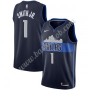 Dallas Mavericks Basketball Trøjer NBA 2019-20 Dennis Smith Jr 1# Marine blå Statement Edition Swing..