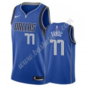 Dallas Mavericks Basketball Trøjer NBA 2019-20 Luka Doncic 77# Blå Icon Edition Swingman..