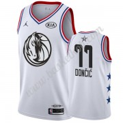 Dallas Mavericks 2019 Luka Doncic 77# Hvid All Star Game Swingman Basketball Trøjer..