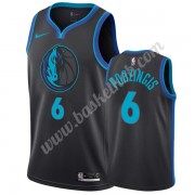 Dallas Mavericks Basketball Trøjer NBA 2019-20 Kristaps Porzingis 6# City Edition Swingman..
