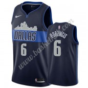 Dallas Mavericks Basketball Trøjer NBA 2019-20 Kristaps Porzingis 6# Marine blå Statement Edition Sw..