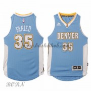 NBA Basketball Trøje Børn Denver Nuggets 2015-16 Kenneth Faried 35# Road..