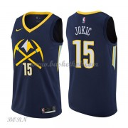 NBA Basketball Trøje Børn Denver Nuggets 2018 Nikola Jokic 15# City Edition..