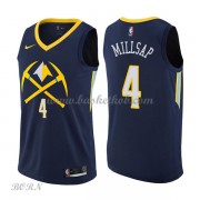 NBA Basketball Trøje Børn Denver Nuggets 2018 Paul Millsap 4# City Edition..