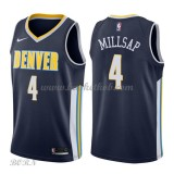 NBA Basketball Trøje Børn Denver Nuggets 2018 Paul Millsap 4# Icon Edition