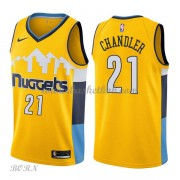 NBA Basketball Trøje Børn Denver Nuggets 2018 Wilson Chandler 21# Statement Edition..