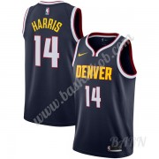 Billige Basketball Trøje Børn Denver Nuggets 2019-20 Gary Harris 14# Marine blå Icon Edition Swingma..